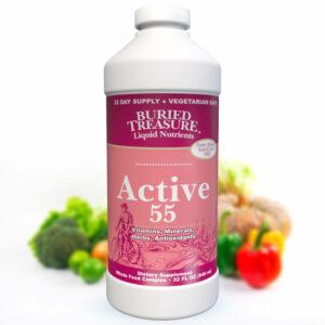 Buried Treasure Active 55 Daily Liquid Vitamins