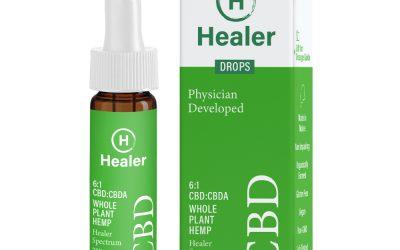 CBD, Tincture Oil, Healer Spectrum, 6:1