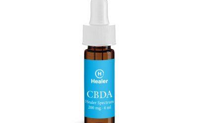 CBDA, Tincture Oil, Healer Spectrum