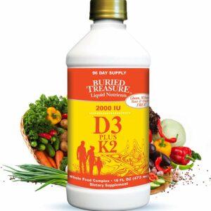Buried Treasure D3 liquid vitamin