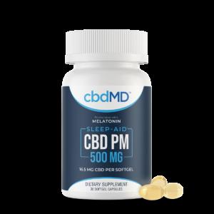 CBD PM Softgel Capsule