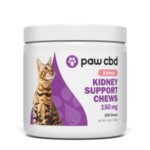 cbd kidney support for cats 150mg salmon flavor