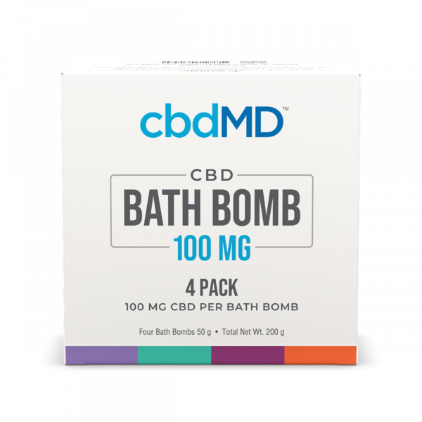 CBD Bath Bombs Multi-Pack Top View