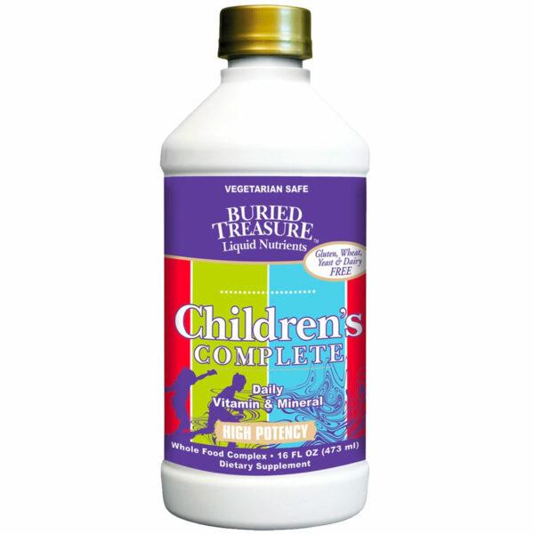 buried treasure children's complete liquid vitamins