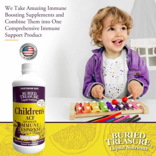 Buried Treasure Immune Response for Children